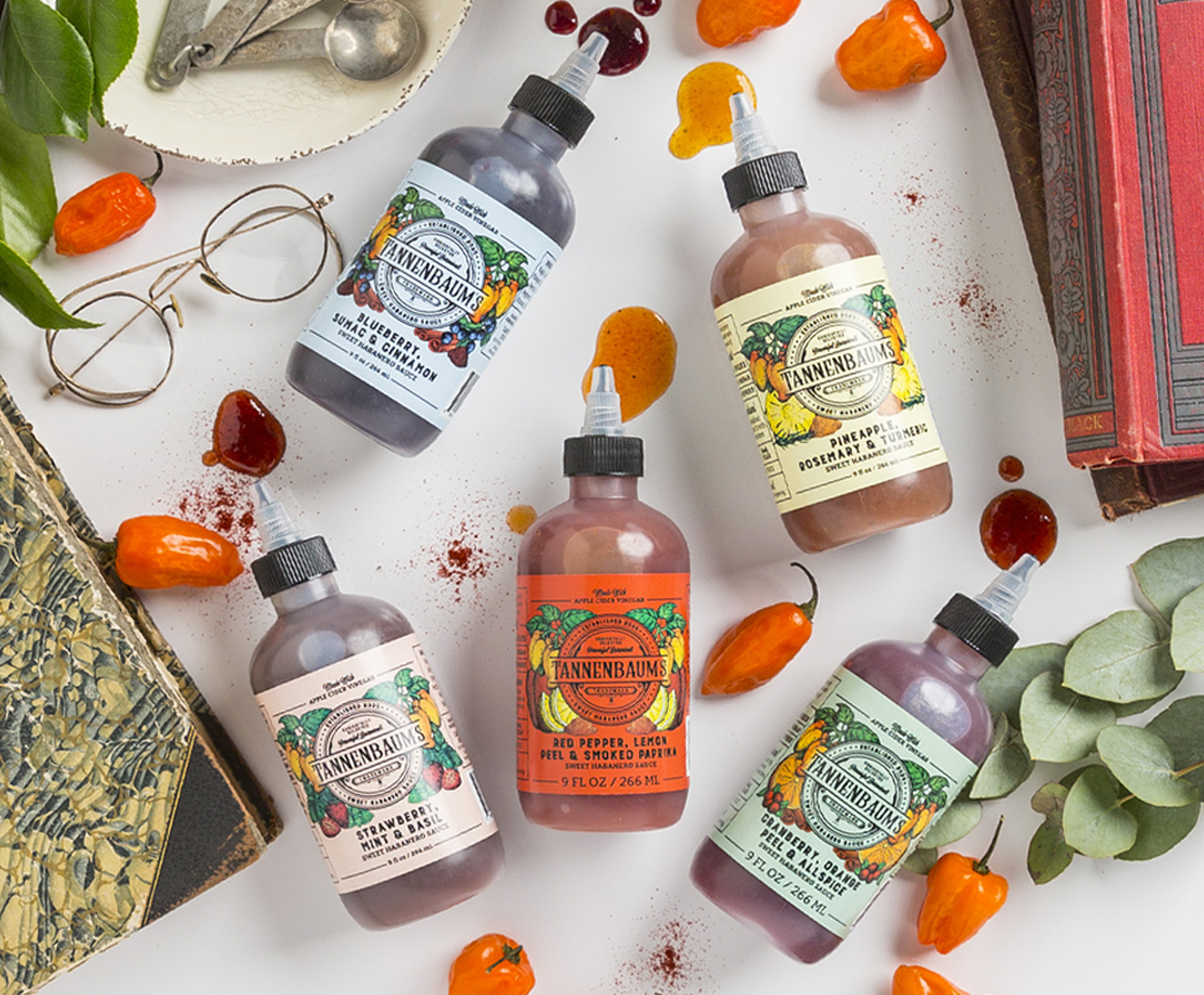 Fruit-forward botanical hot sauce created with the help of Brandcraft.